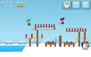 Screenshot of Cowaboom - Launch the cow !