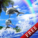 Dolphin Blue Trial icon