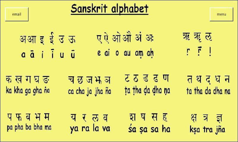Sanskrit 3 Android Apps on Google Play – Sanskrit Alphabet Chart
