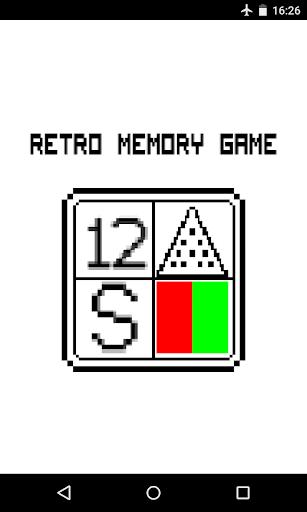 Retro Memory Game