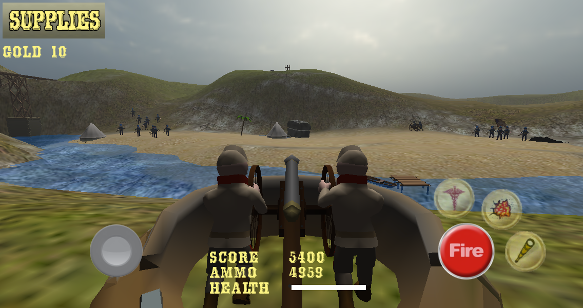 Gettysburg Cannon Battle USA- screenshot