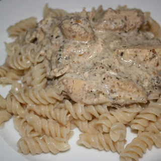 CrockPot Cream Cheese Chicken.