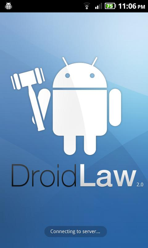 Legal Dictionary for DroidLaw- screenshot