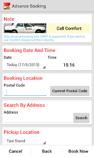SG Cab Pro (Taxi Booking)- screenshot thumbnail