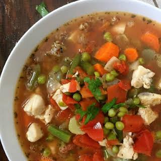 Chicken Quinoa Soup.
