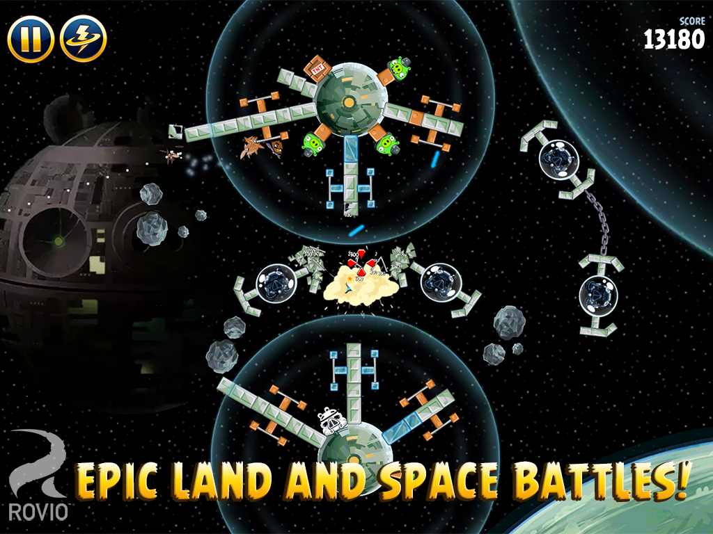 Angry Birds Star Wars screenshot #14