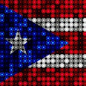 LED Puerto Rico Flag Wallpaper