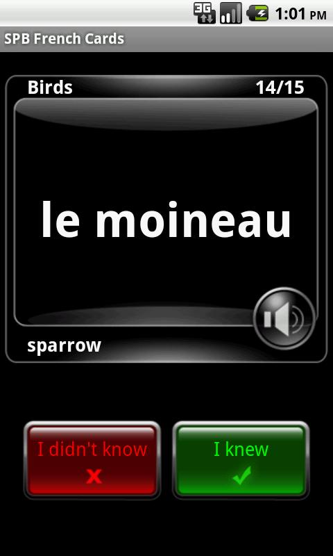 SPB French Cards - screenshot