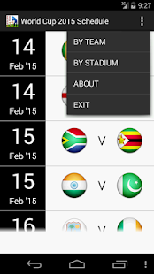 WorldCup 2015 Schedule OFFLINE screenshot