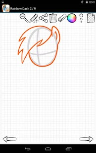 Download Android Game Learn to Draw Little Pony for Samsung