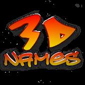 3D Names
