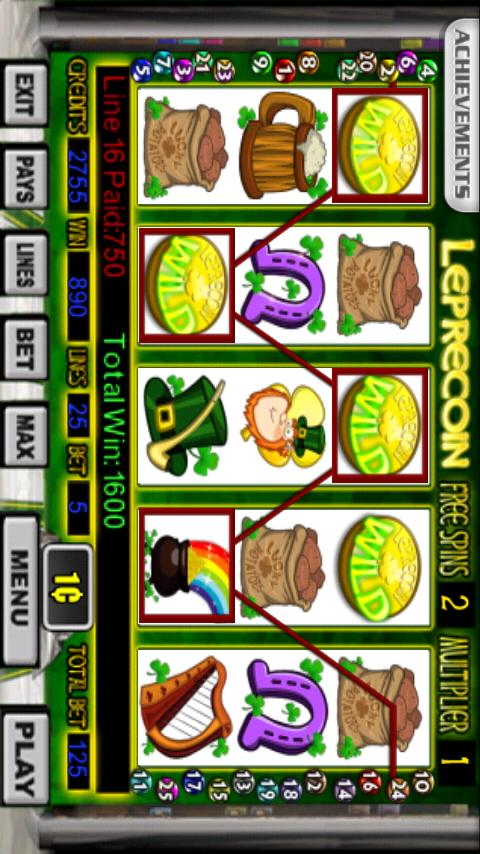 Leprecoin Slot Machine - screenshot