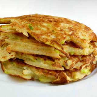 Vegetable Pancakes.