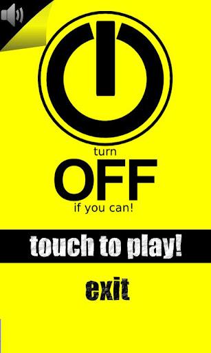 Turn OFF Game