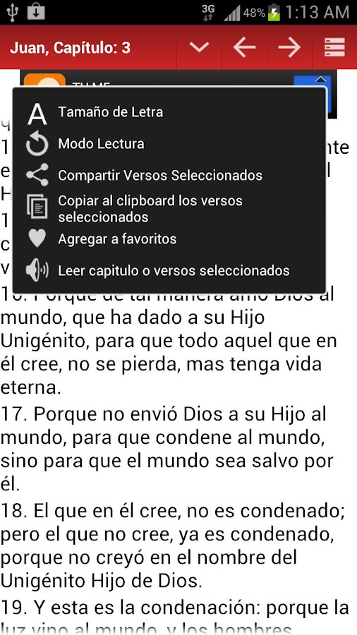 Biblia Reina Valera (Spanish) - screenshot