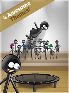 Stickman Trampoline PRO - screenshot thumbnail