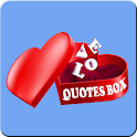 Love Quotes Box icon