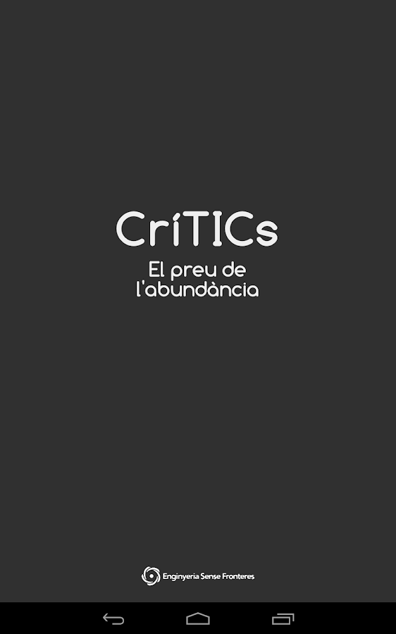CríTICs - screenshot