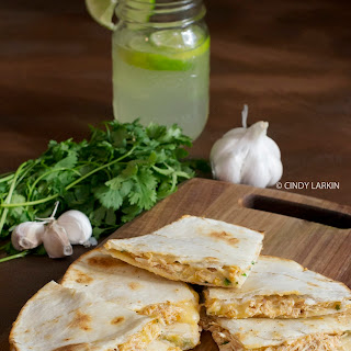 Honey Lime Chicken Quesadillas