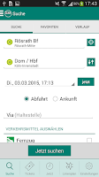 Screenshot of VRS Auskunft