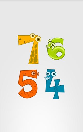 Числа Детям: Цифры для детей