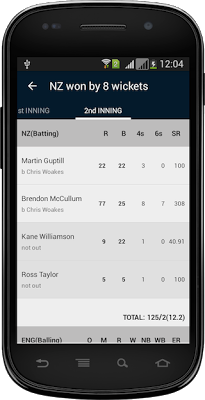 Cricket Fever : Live Cricket - screenshot