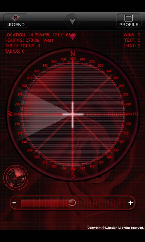 L.Radar - screenshot