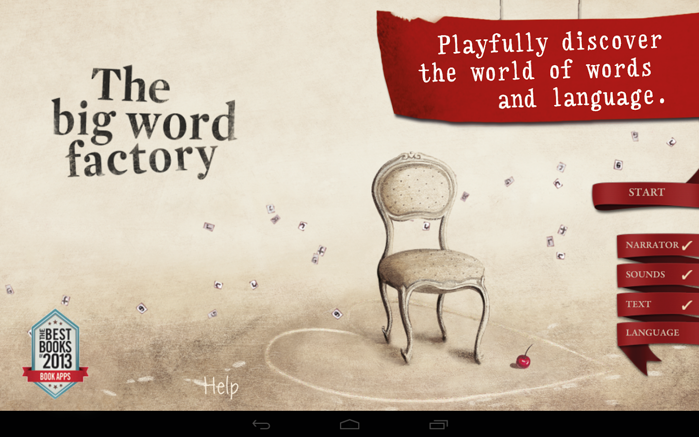 The big word factory- screenshot