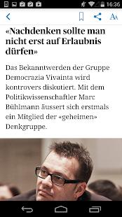 Tages-Anzeiger Screenshot 5
