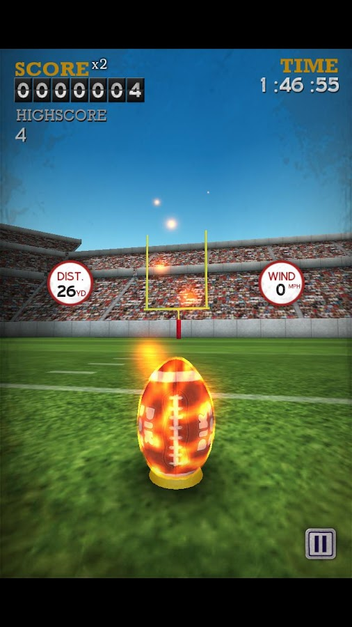 Flick Kick Field Goal - screenshot
