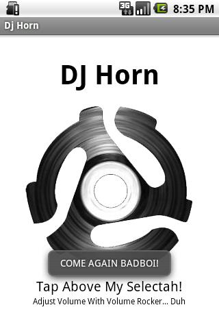 Dj Horn Soundboard- screenshot
