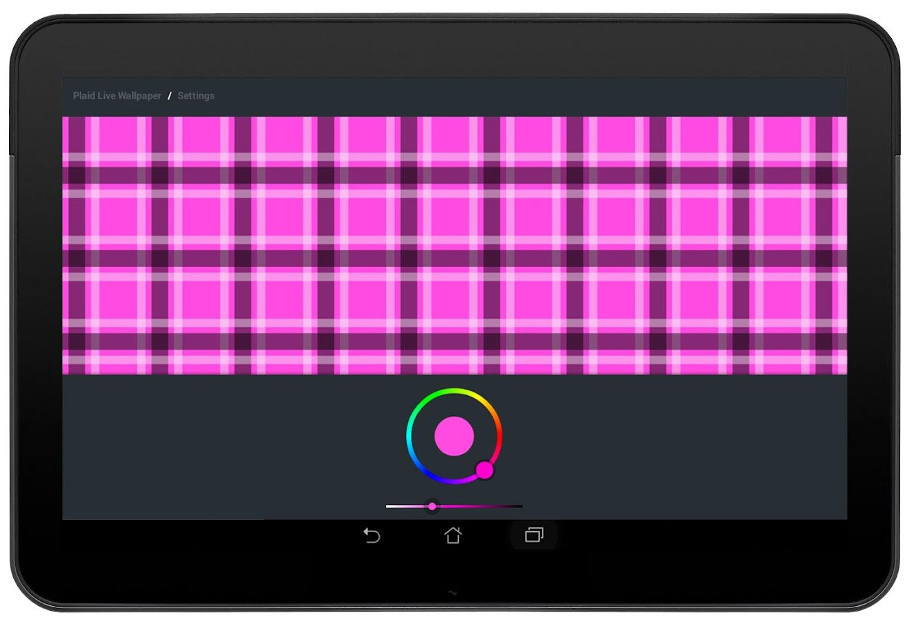 Plaid Live Wallpaper FREE- screenshot