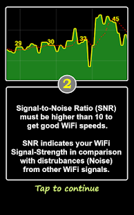 WiFi SNR - screenshot thumbnail