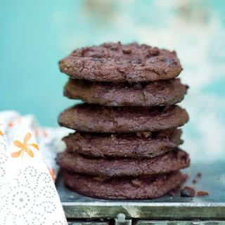 Chocolate Black Bean Power Cookies