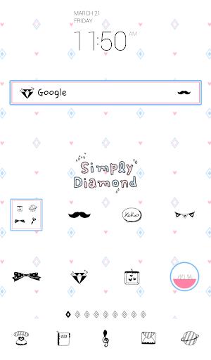 simply diamond 도돌런처 테마
