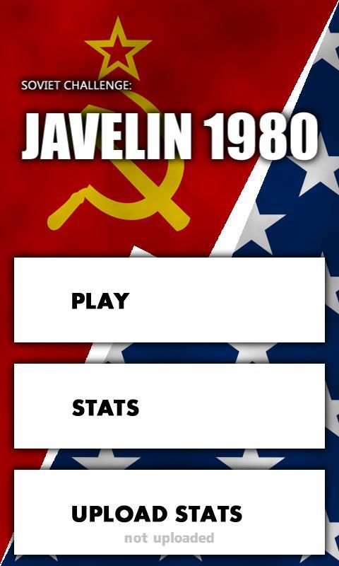 Soviet Ch: Javelin 1980 Trial- screenshot