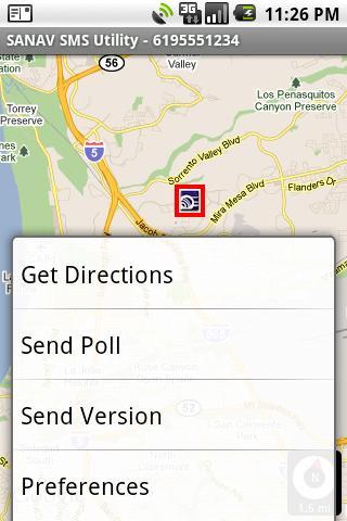 SANAV SMS Utility- screenshot