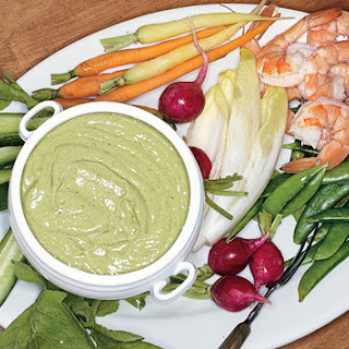 Crudités with Green Goddess Dip