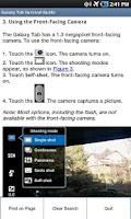 Screenshot of Galaxy Tab Survival Guide