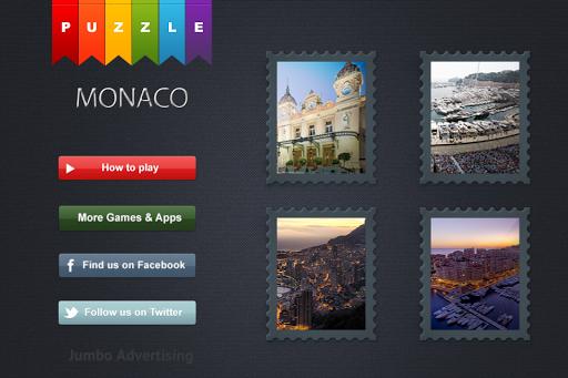 Monaco City Guide Puzzle