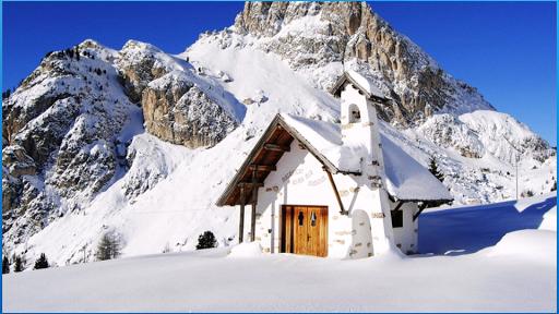 美しい冬の背景