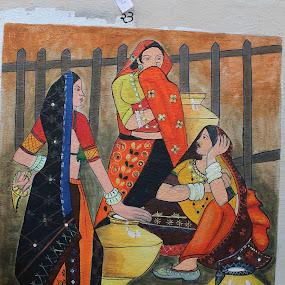 my wall panting 5th prise by Harshad Dhapa - Digital Art People