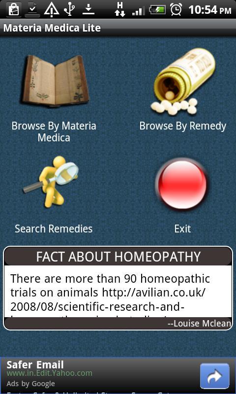 Materia Medica Pro - screenshot