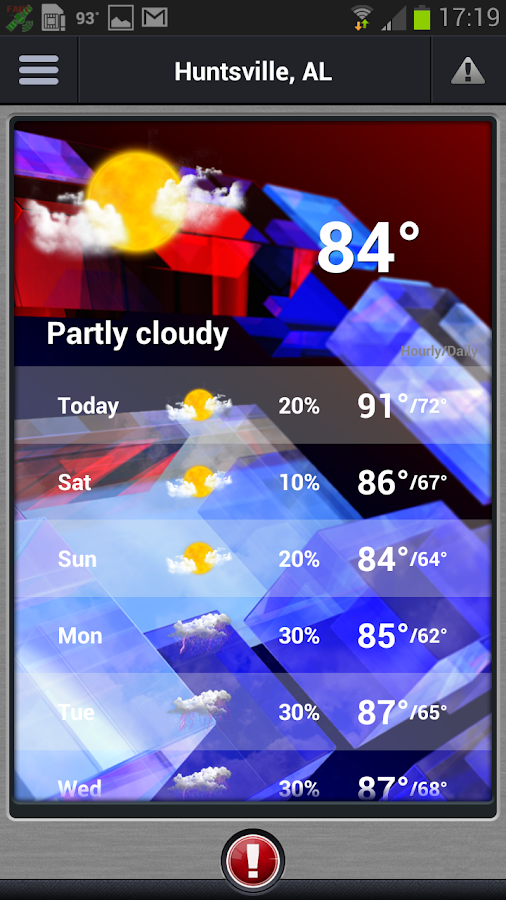 WHNT Weather - screenshot