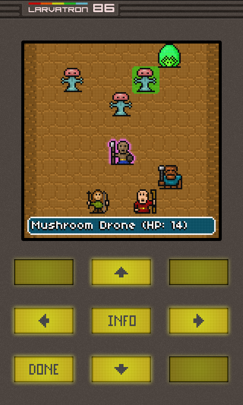 Gurk III, the 8-bit RPG- screenshot
