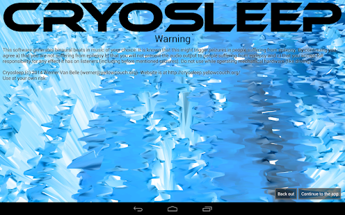 Cryosleep Brainwave Generator- screenshot thumbnail
