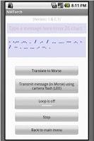 Screenshot of LED Flashlight  and Morse Code