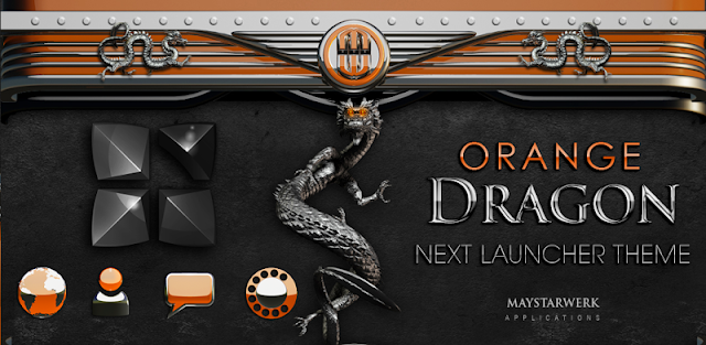 NEXT theme dragon orange