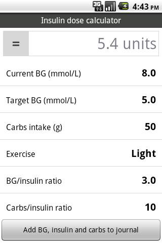 Glucool Diabetes Premium - screenshot