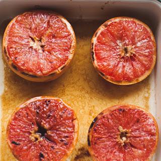 Grand Marnier Broiled Grapefruit